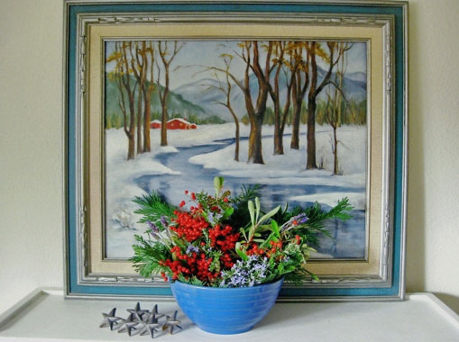 Decorating with Winter Berries