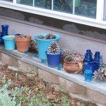 Garden junk.