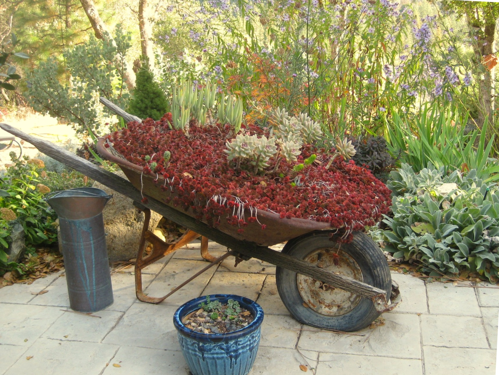 Why Do I Love Junk Flea Market Gardening