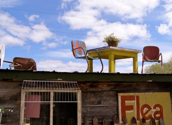 Lisa Moelter's photo of some roof top junkola