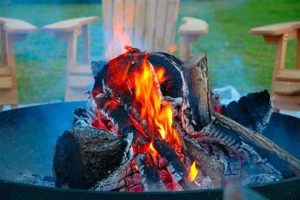 """""""Come grab a sweater and join us by the fire pit"""""""