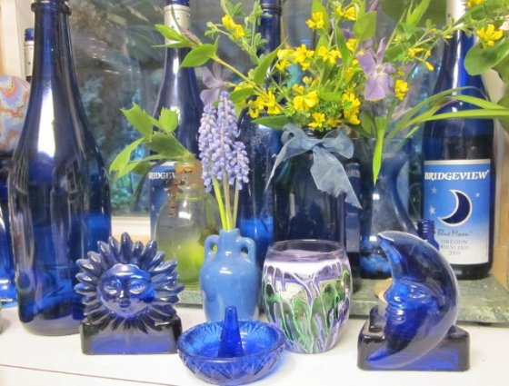 BlessMyBloomers' collection of garden blues