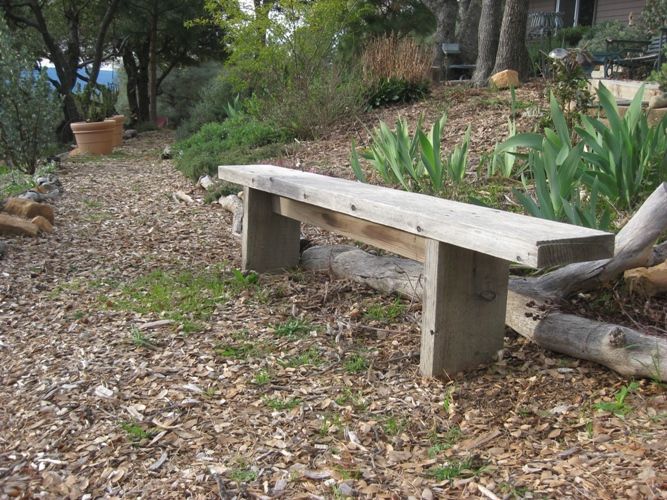build japanese garden bench