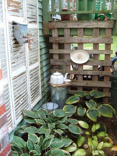 """""""Nook between chimney and fence..."""""""