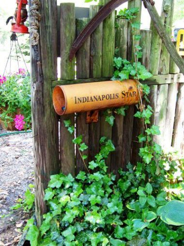 Julie Brown's vintage mailbox