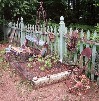 """""""Rusty bits and a pile of scrap lumber"""""""