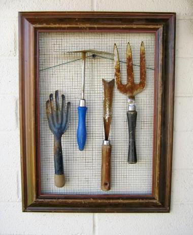 Framed tool art