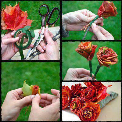 Kathie Schram's creative leaves