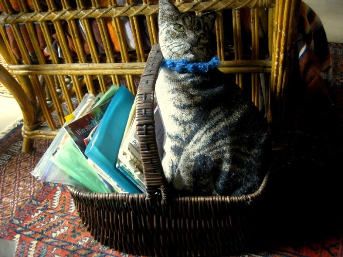 Organizer basket for my garden records