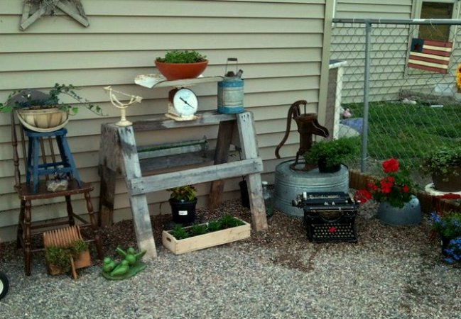 Meeting Deb Clark Flea Market Gardening