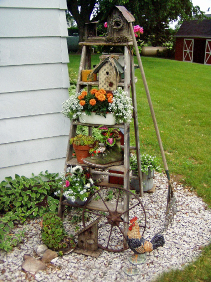 Jean Butcher Morrow's Old Ladder