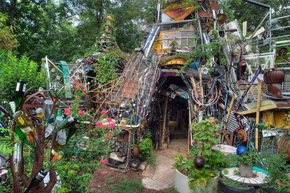 Cathedral of junk Austin, TX