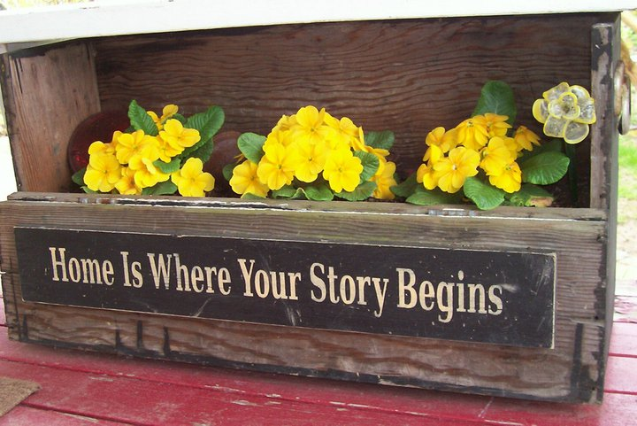 """""""Home is Where your Story Begins"""""""