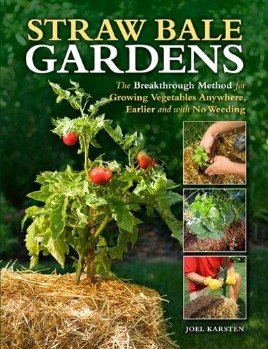 Straw Bale Gardens, Flea Market Gardening style