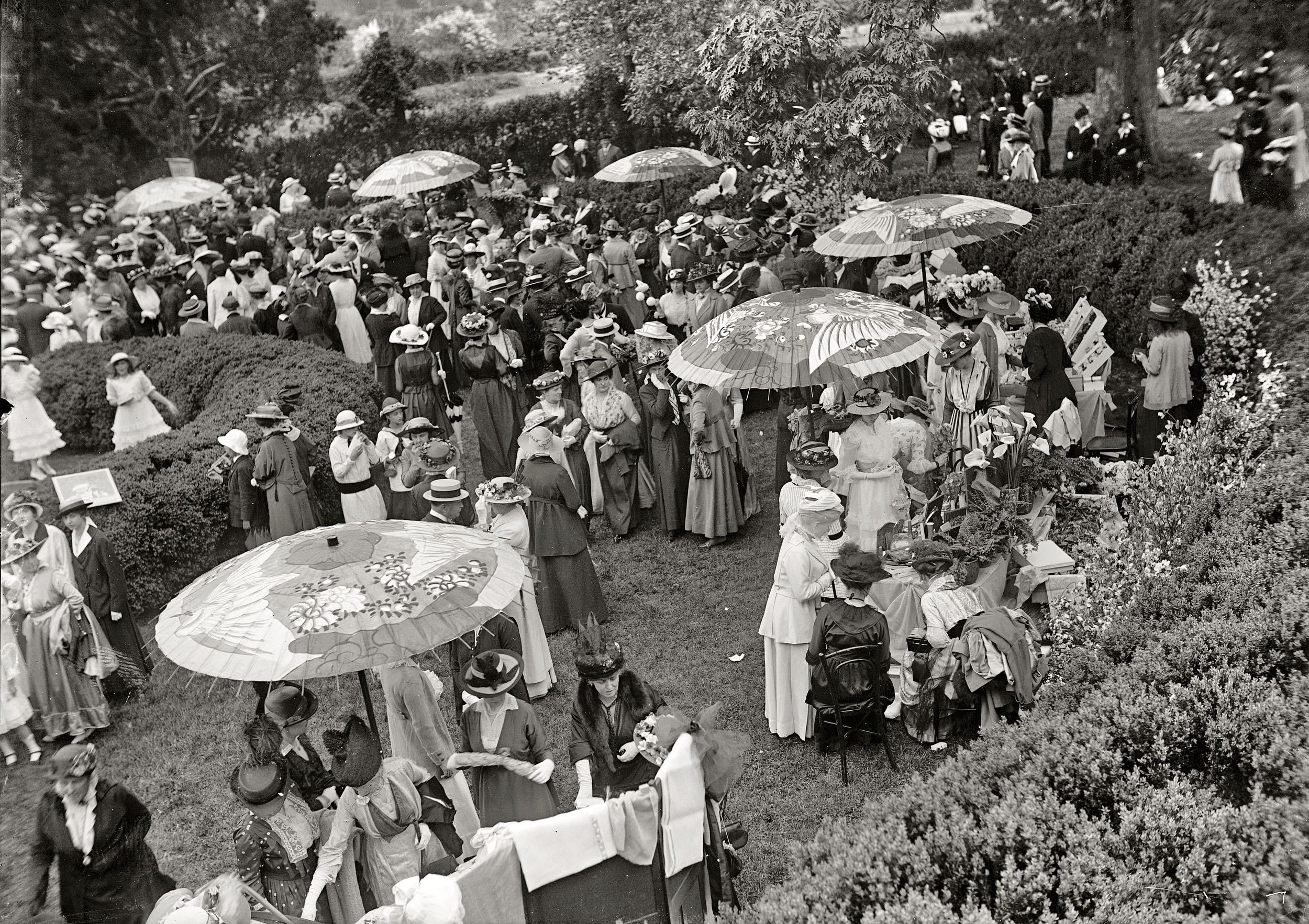 1915 May Day Garden Party