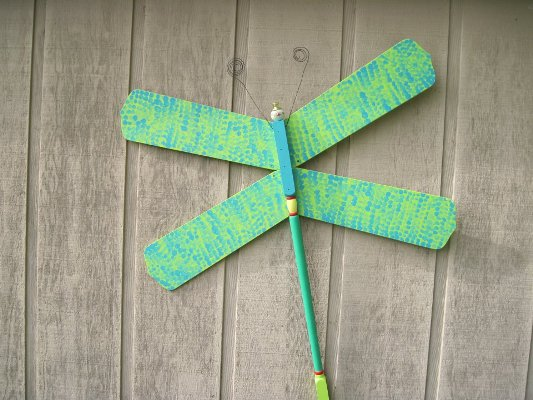 Brenda K. Colwell's blue and green dragonfly