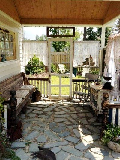 Kim's pretty porch