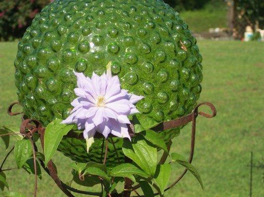 Cheryl York gorgeous green globe