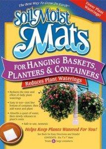 Soil Moist Mats For Hanging Baskets