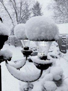 Ann's Chandelier in winter