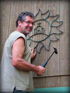 Julie Brown's husband, helps up high, doing her 'bidding.'