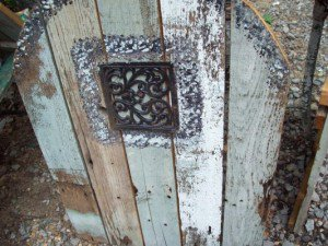 Kathy Gilbert's weathered fairy door
