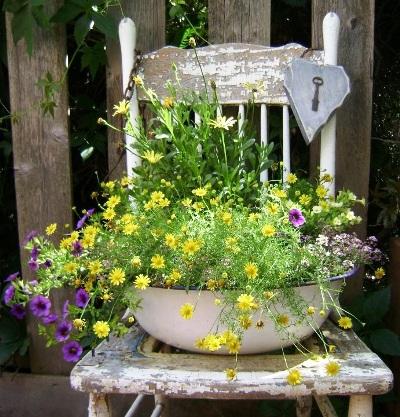 Sitting Pretty - Marie Niemann's lovely old chair