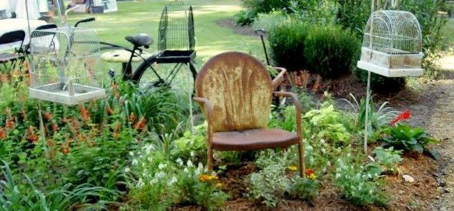 Natures Hideaway Nursery & Gardens' chair