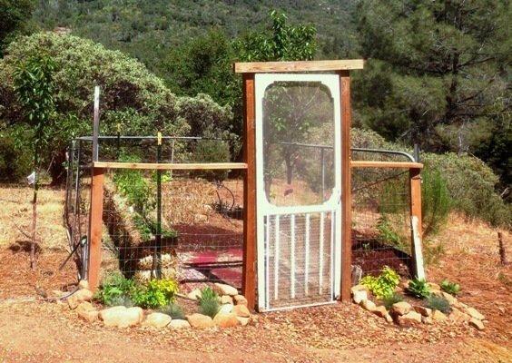 Ranch Gate Garden In Mid June