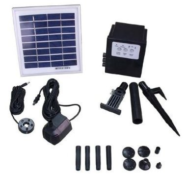 Solar Pump with light