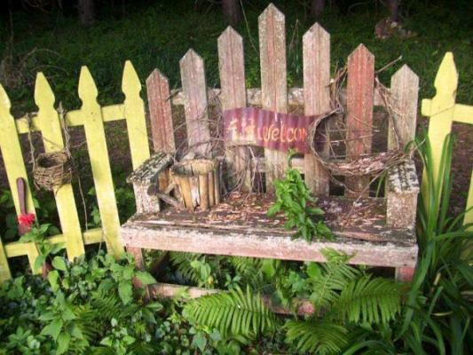 """Dean McCall says, """"This old bench has been there, done that, & now doing it again!"""""""