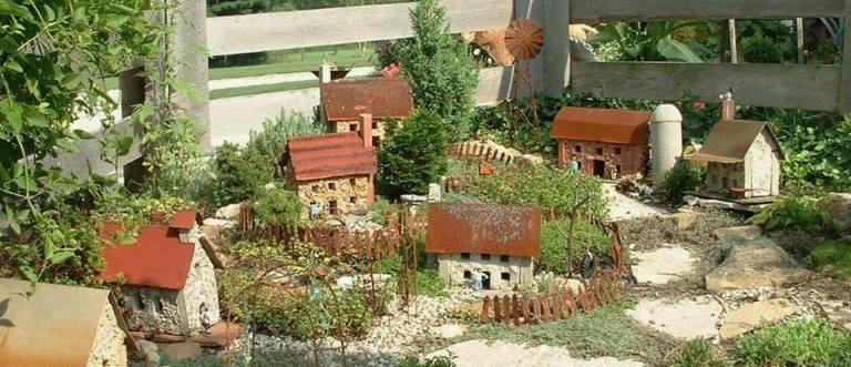 Diana's miniature garden