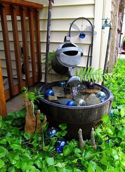 Kirk Willis's ingenious water feature