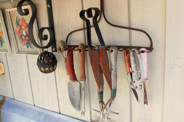 Sue Langley's Rake for tools