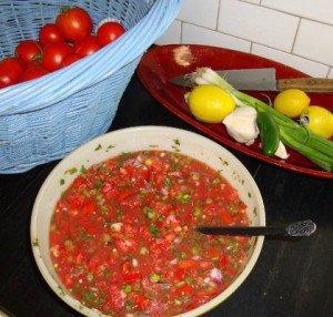 Daughter, Lisa's salsa