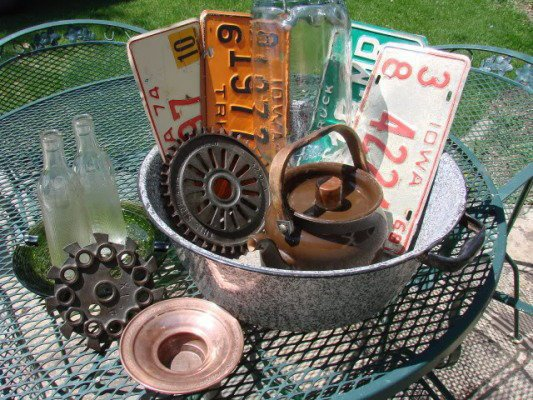 Flea market finds for materials