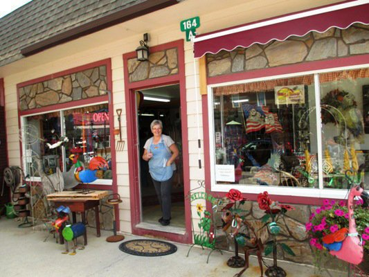 Lorena Freis at The Farmer's Daughter Antiques