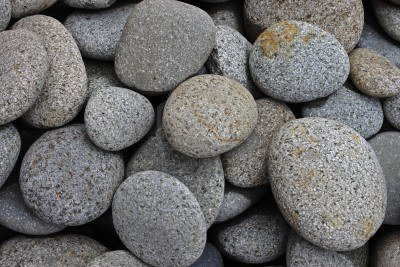 River stones are the ones to use