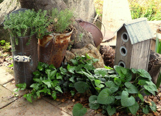 5 ways to find and use junk in your garden