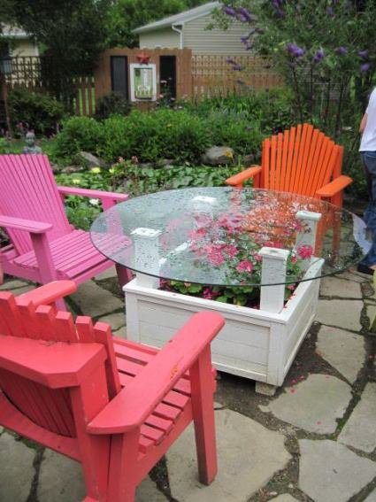 A pleasant seating area