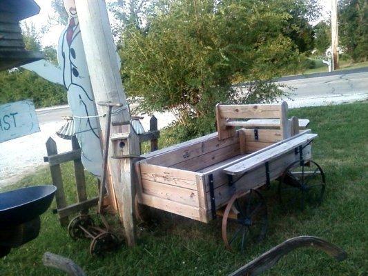 """""""A wagon my Dad built"""""""