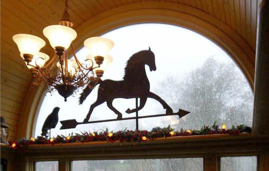 Annie Steen's barn window