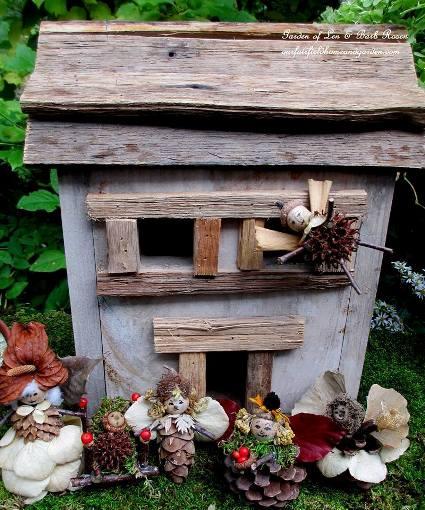 A house full of fairies!