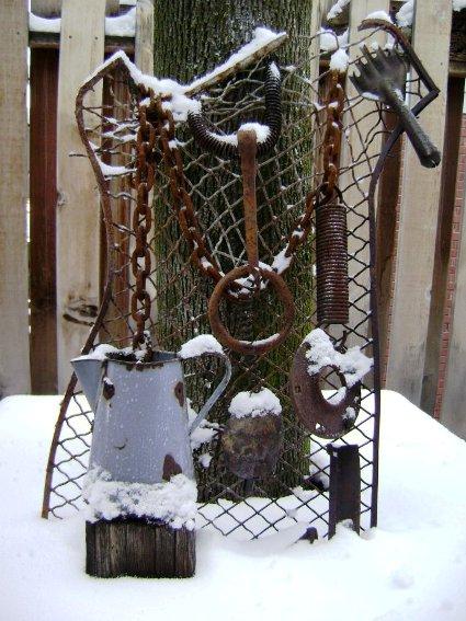 Marie Niemann's rust and snow