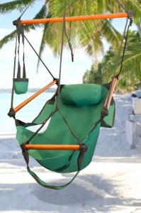 New Deluxe Green Sky Air Chair Swing