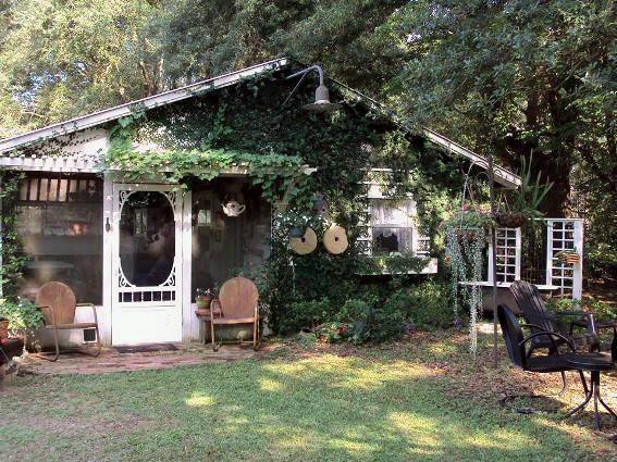 "Vicki Rushing says, ""This is my playhouse, my favorite place to be."""