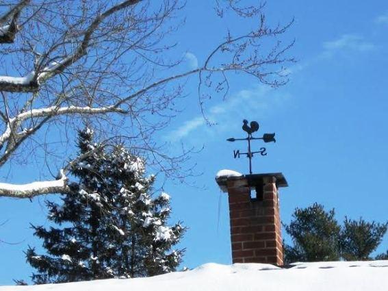 Deb Boyle -Mine is atop my chimney