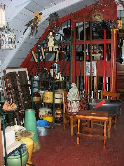 Jeanne Sammons says,  This is one fourth of the garden shed ...