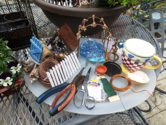 Fairy Garden Ideas Diy arlene brennemans tiny house centers the miniaturel garden Miniature Supplies For Small Gardens