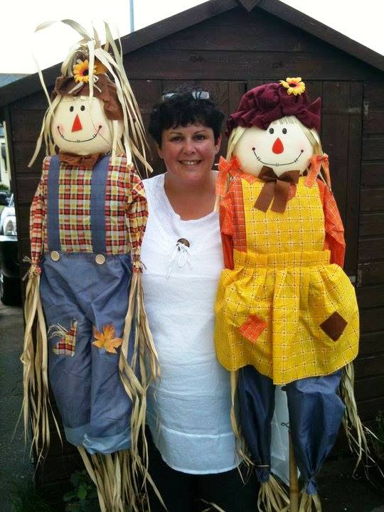 Shelley Hardman and 'friends'